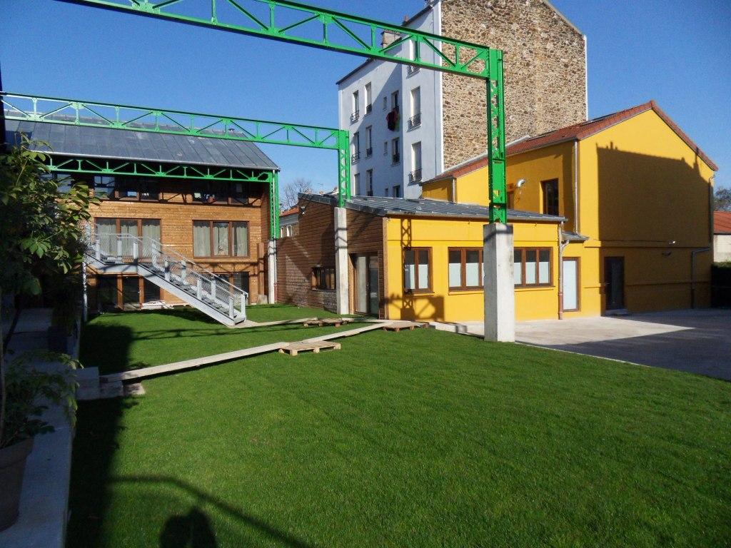 Ivry sur seine loft mixte bureaux habitation avec parking aldabra - Parking ivry sur seine ...